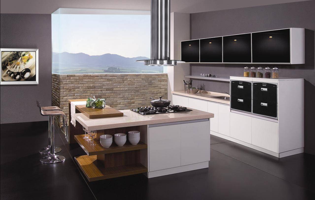 Modular Kitchen | Island kitchen