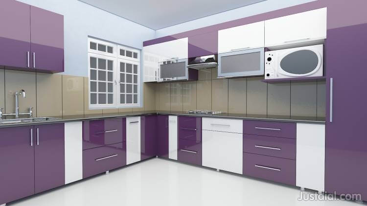 Modular Kitchen With Full Functionality And Beautiful Designs By Ziffon