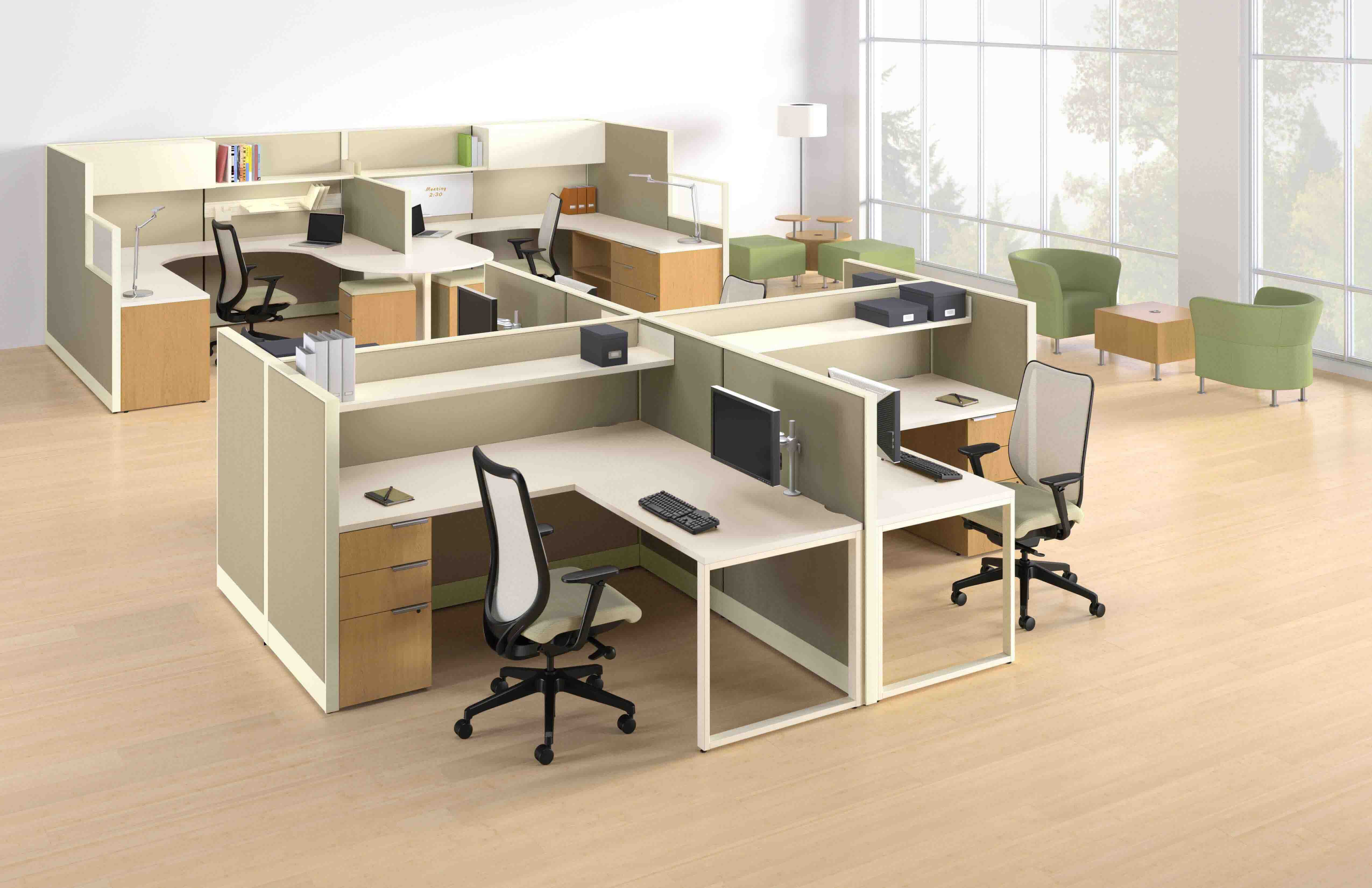 OFFICE  FLOOR SPACE, WITH EXCLUSIVE AND DYNAMIC WORKSTATION DESIGNS